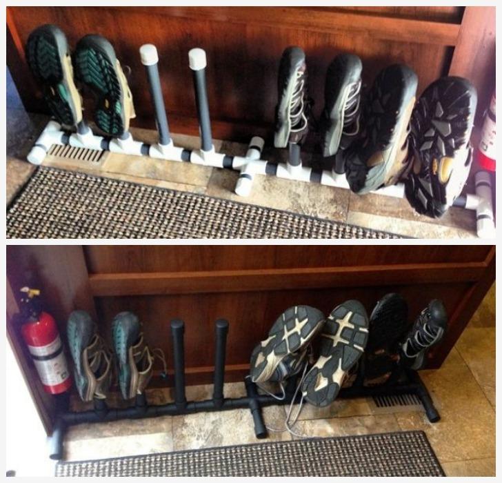 PVC Shoe Storage Organizer