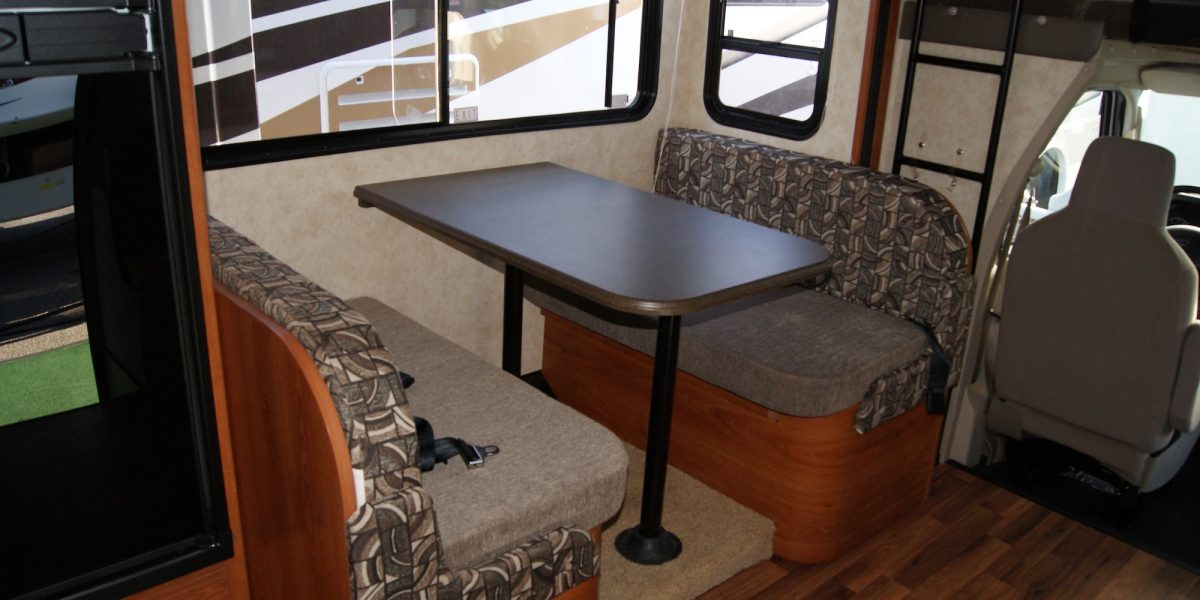 Remove your RV dinette and Gain Flexible Space